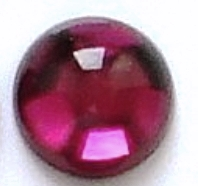 2mm Red Garnet Cabochon